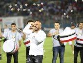 محمود العسيلى يتألق فى حفل السوبر الإماراتى بالدفاع الجوى