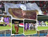 الوحدة يتوج بكأس السوبر الإماراتى  بملعب الدفاع الجوى