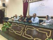صور.. رئيس جامعة الأزهر يفتتح الدورة التدريبية لمعلمى المعاهد