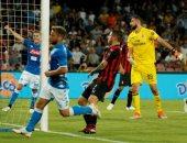 24e86b53d5010 أهداف مباراة نابولي ضد ميلان في الدوري الإيطالي
