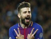 فيديو.. بيكيه يحرز هدف تعادل برشلونة ضد جيرونا 2/2 فى الدقيقة 62