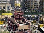 12 عاما على نقل تمثال رمسيس إلى المتحف المصرى الكبير