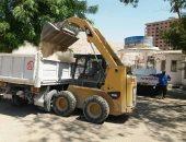 صور.. رفع 8 أطنان من القمامة والمخلفات فى حملة بحى الكوثر بسوهاج