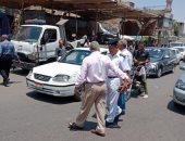 صور.. مدير أمن القاهرة يقود حملات لإعادة الانضباط وضبط 416 مخالفة و20 بائعا