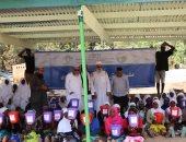 رابطة العالم الإسلامى تسلم مخصصات للأيتام فى ملاوى وتنفذ مشروع كبش العيد