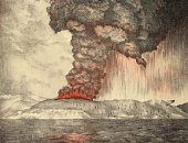 تاريخ الدمار عمره 135 عامًا.. كيف دمر بركان كراكاتوا 163 قرية فى إندونيسيا