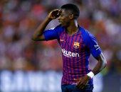 هل يكون عثمان ديمبلي مفتاح انتقال محمد صلاح إلى برشلونة؟