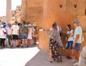 """""""السياحة"""" تعلن عن ارتفاع أعداد السياح مرة ونصف بنهاية العام الجارى"""