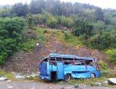 مصرع 6 أشخاص وإصابة 10 آخرين إثر اصطدام حافلة ركاب بسيارة فى باكستان