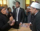 صور.. وزير الأوقاف يعطى إشارة البدء لتوزيع لحوم الأضاحى بالقاهرة والجيزة