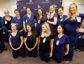 """فى مستشفى واحد.. مؤتمر صحفى لـ 16 ممرضة """"حامل"""" للحديث عن تجربة """"الحمل معا"""""""