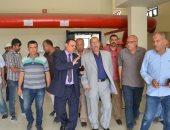 محافظ الإسماعيلية يتفقد أعمال المرحلة الأولى لمشروع محطة مياه الشرب بمدينة المستقبل