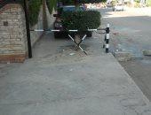 أهالى منطقة سيدى بشر فى الإسكندرية يشكون انتشار الحواجز الحديدية