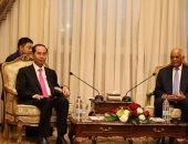 الرئيس الفيتنامى يشيد بلقائه مع السيسى ويتوقع نمو حجم التبادل التجارى المشترك