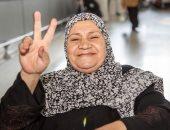 زوجة شهيد بحادث مسجد الروضة تغادر السعودية بعد إجراء غسيل كلوى لها