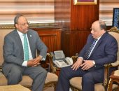 وزير التنمية المحلية يستقبل سفير الإمارات لبحث دعم التعاون بين البلدين