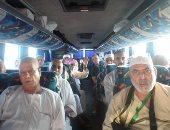 صور..حجاج فلسطين يشكرون السيسى على الدعم والتسهيلات خلال رحلة العودة لبلادهم