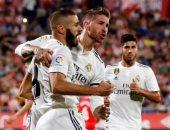 ريال مدريد يتصدر الدورى الإسبانى برباعية فى جيرونا.. فيديو