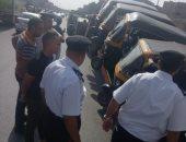 التوك توك والسيارات المجهولة تسيطران على أنحاء متفرقة بالإسكندرية