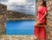 """""""إلى كل اللى بيحبونى"""".. إليسا تنشر صورا لها من اليونان"""