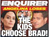 هل فقدت أنجلينا جولى حضانة أطفالها والأبناء اختاروا براد بيت؟