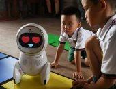 فيديو.. Keeko روبوت جديد لتعليم الأطفال فى المدارس الصينية