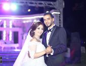 الزميل مصطفى السيد يحتفل بزفافه على ولاء فيصل