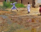 أضبط مخالفة..المياه الجوفية تحاصر مدرسة بنبان بأسوان قبل بداية العام الدراسى