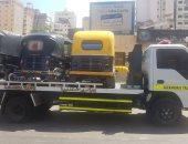 """جهاز 6 أكتوبر يشُن حملة مكبرة على مركبات """"التوك توك"""" بأنحاء المدينة"""