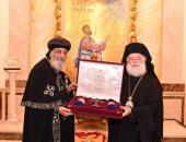 بطريرك الروم الأرثوذكس يستقبل البابا تواضروس بالأسكندرية