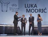لوكا مودريتش يعلق على تتويجه بجائزة افضل لاعب فى اوروبا