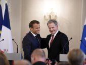 """ماكرون يقترح """"تعزيز التضامن الدفاعى"""" بين دول الإتحاد الأوروبى"""