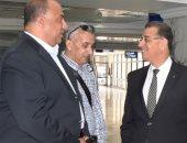 السفير المصرى بتونس يدعو بعثة الاتحاد على مأدبة غداء