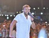 رامى صبرى فى حفل جماهيرى كبير بالإسكندرية
