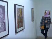 """""""صوت ولون إلى غزة"""".. شاهد معرض فنى لدعم مصابى مسيرة العودة"""