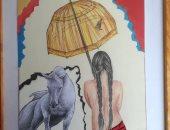 قارئة تشارك برسومات سريالية تبرز معاناة المرأة مع الحب والارتباط