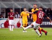 فيديو.. ميلان يقهر روما فى الوقت القاتل بالدوري الإيطالي