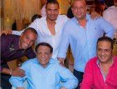 ننشر صور الزعيم عادل إمام فى حفل زفاف نجله