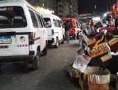 قارئ يشكو من وجود موقف ميكروباص عشوائى بمدينة السادات فى إمبابة