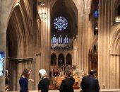 اليوم السابع داخل كاتدرائية واشنطن قبل ساعة من تأبين جون ماكين.. صور