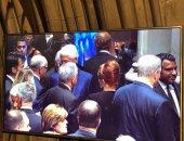 وصول أوباما وكلينتون وبوش ومايك بنس إلى مراسم تأبين ماكين وغياب ترامب