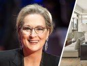 """4 غرف بـ25 مليون دولار.. شاهد منزل """"ميريل ستريب"""" صاحبة جوائز الأوسكار"""