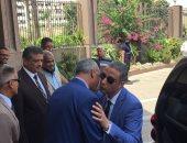 محافظ سوهاج الجديد يصل ديوان عام المحافظة لتسلم مهام منصبه
