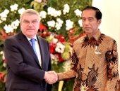 شاهد.. كيف احتفل رئيس إندونيسيا بنجاح بلاده فى تنظيم دورة الألعاب الآسيوية؟