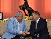 محافظ الشرقية الجديد يستقبل اللواء خالد سعيد بمكتبه بالديوان العام
