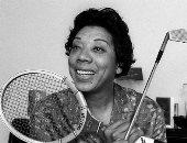 """نصب تذكارى فى أمريكا لنجمة التنس العالمية """"ألثيا جيبسون"""""""