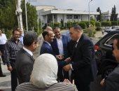 جامعة قناة السويس تستقبل رئيسها السابق الدكتور غراب محافظ الشرقية