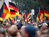 صور..تجدد المظاهرات المعادية للهجرة فى ألمانيا بعد مقتل رجل على يد لاجئين