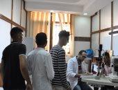 صور .. توقيع الكشف الطبي الشامل على الطلاب الجدد بجامعة كفرالشيخ