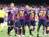 برشلونة يسجل هدفين فى 3 دقائق ضد سوسيداد ويقلب النتيجة 2 / 1.. فيديو